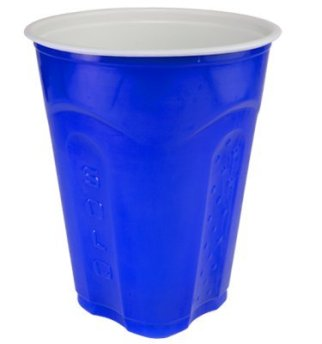 blue solo cup