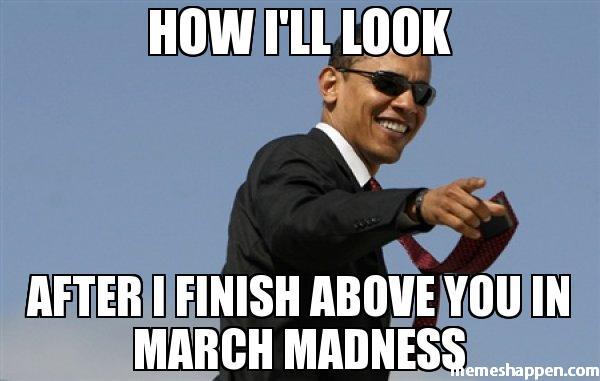 Obama Meme March Madness